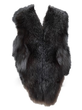 Ericdress Faux Fur Black Vest