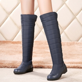 Ericdress Chic Back Ribbon Knee High Boots