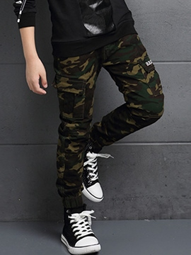 Ericdress Camouflage Thickening Casual Boys Pants