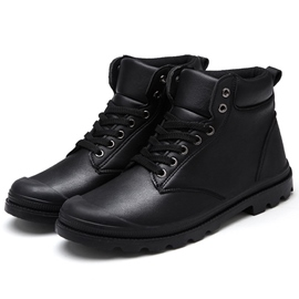 Ericdress Round Toe High Cut Men's Boots