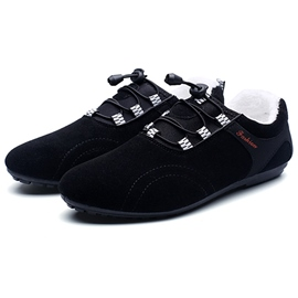 Ericdress Solid Color Lace up Men's Casual Shoes