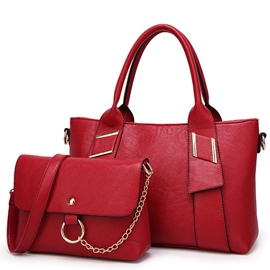 Ericdress Fancy Solid Color Handbags(2 Bags)