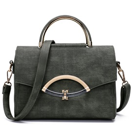 Ericdress Graceful Twisted Lock Handbag