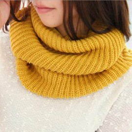 Ericdress Simple Knitted Neck Warmer