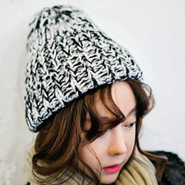 Ericdress Casual Thicken Woolen Yarn Knitted Hat