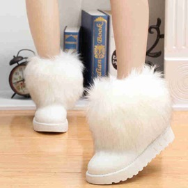 Ericdress Amazing Furry Snow Boots