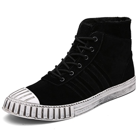 Ericdress Shell Toe Lace up Men's Casual Shoes