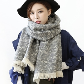 Ericdress Imitation Cashmere Thicken Shawl Scarf
