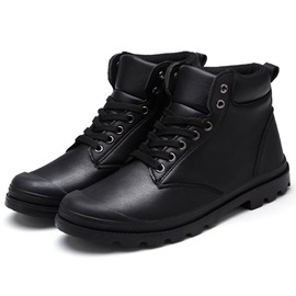 Ericdress Vintage High Cut Men's Martin Boots
