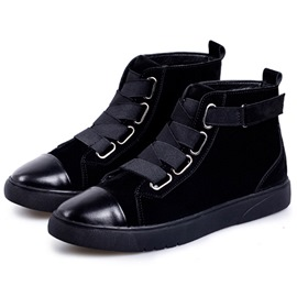 Ericdress Patchwork High Top Men's Boots