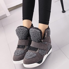 Ericdress Patchwork Sneakers Ankle Boots