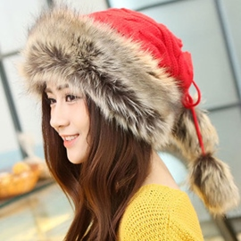 Ericdress Ethnic Style Pure Color Knitted Hat