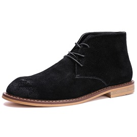 Ericdress Nubuck Brush Off Men's Boots