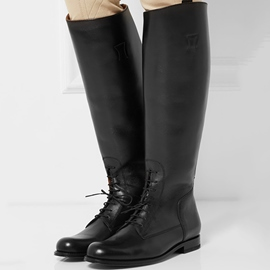 Ericdress Cool Round Toe Square Heel Knee High Boots