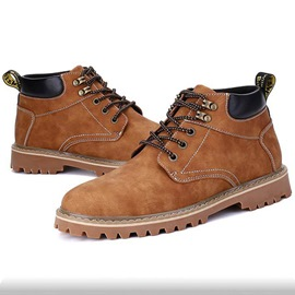 Ericdress Retro High Top Men's Martin Boots