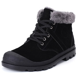 Ericdress British Plain Men's Snow Boots