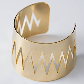 Ericdress Alloy Wave Design Bracelet