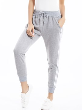 Ericdress Sports Style Plain Pencil Pants