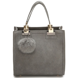 Ericdress Simple Fuzzy Ball Handbag