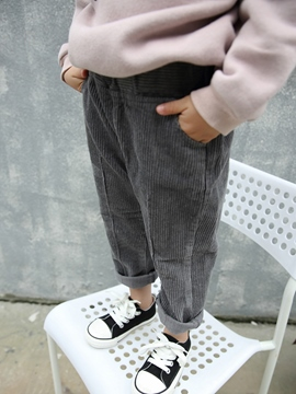 Ericdress Plain Casual Girls Pants