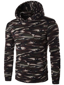 Ericdress Quality Camouflage Casual Men's Hoodie