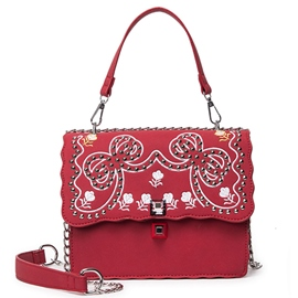 Ericdress Ethnic Embroidery Canvas Shoulder Bag