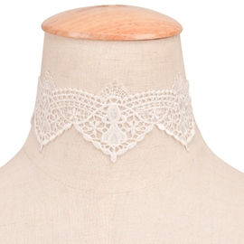 Ericdress Stretch All-Matched Lace Choker Necklace
