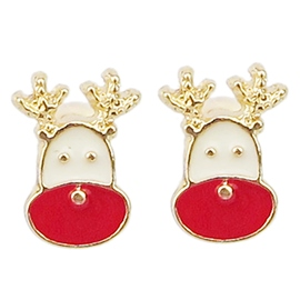 Ericdress Christmas All-Matched Stud Earrings