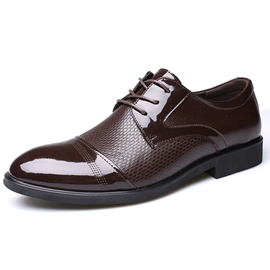 Ericdress Hot Selling Patchwork Lace up Men's Oxfords