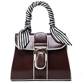 Ericdress Stripe Ribbon Belt Decorated Handbag