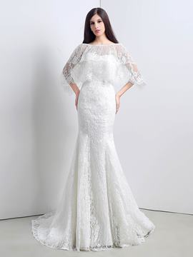 Ericdress High Quality Lace Mermaid Wedding Dress