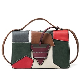 Ericdress Leisure Color Block Crossbody Bag