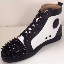 Rivets High-Cut Upper Sneakers