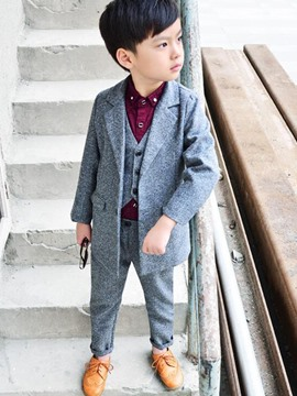 Ericdress Spring Notion Big Boys' Modern Fit Dress Suit Set