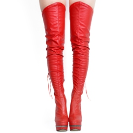 Ultra-High Heel Over-the-Knee Boots