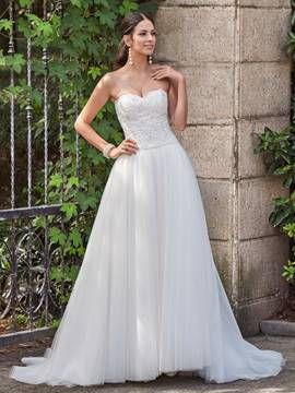 Ericdress Classic Appliques Beaded Sweetheart A Line Wedding Dress
