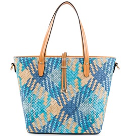 Ericdress Creative Casual Colorful Weaved Handbag