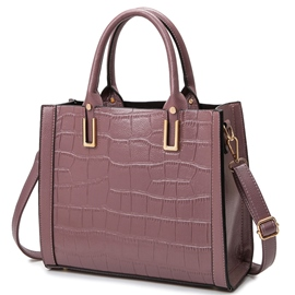 Ericdress Versatile Alligator Pattern Embossed Handbag