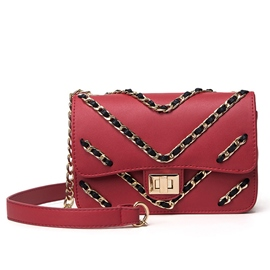 Ericdress All Match Chain Decorated Shoulder Bag