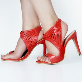 Open Toe Ultra-High Heel Sandals