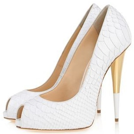 Ericdress Peep Toe Ultra-High Heel Pumps