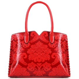 Ericdress Stylish Chinese Floral Knitted Handbag
