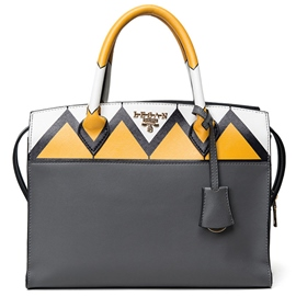 Ericdress Trendy Color Block Handbag