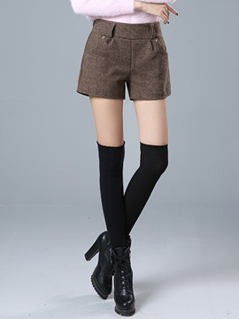 Ericdress Sweet Elastics High-Waist Loose Shorts