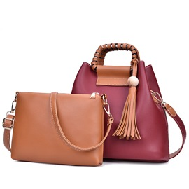 Ericdress Vogue Weaved Tassel Handbags(2 Bags)