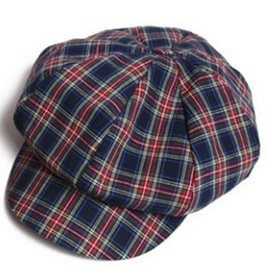 Ericdress British Style Grid Design Newsboy Cap