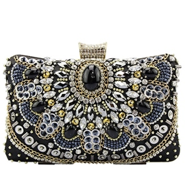 Ericdress Temperament Ladylike Rhinestone Evening Clutch