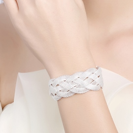 Ericdress Vogue Alloy Mesh Woven Bracelet
