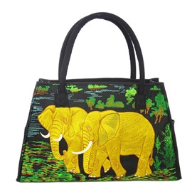 Ericdress Exotic Elephant Embroidery Handbag