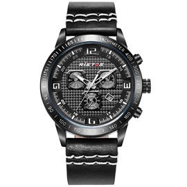 Ericdress Sports Black Band Waterproof Men's Watch